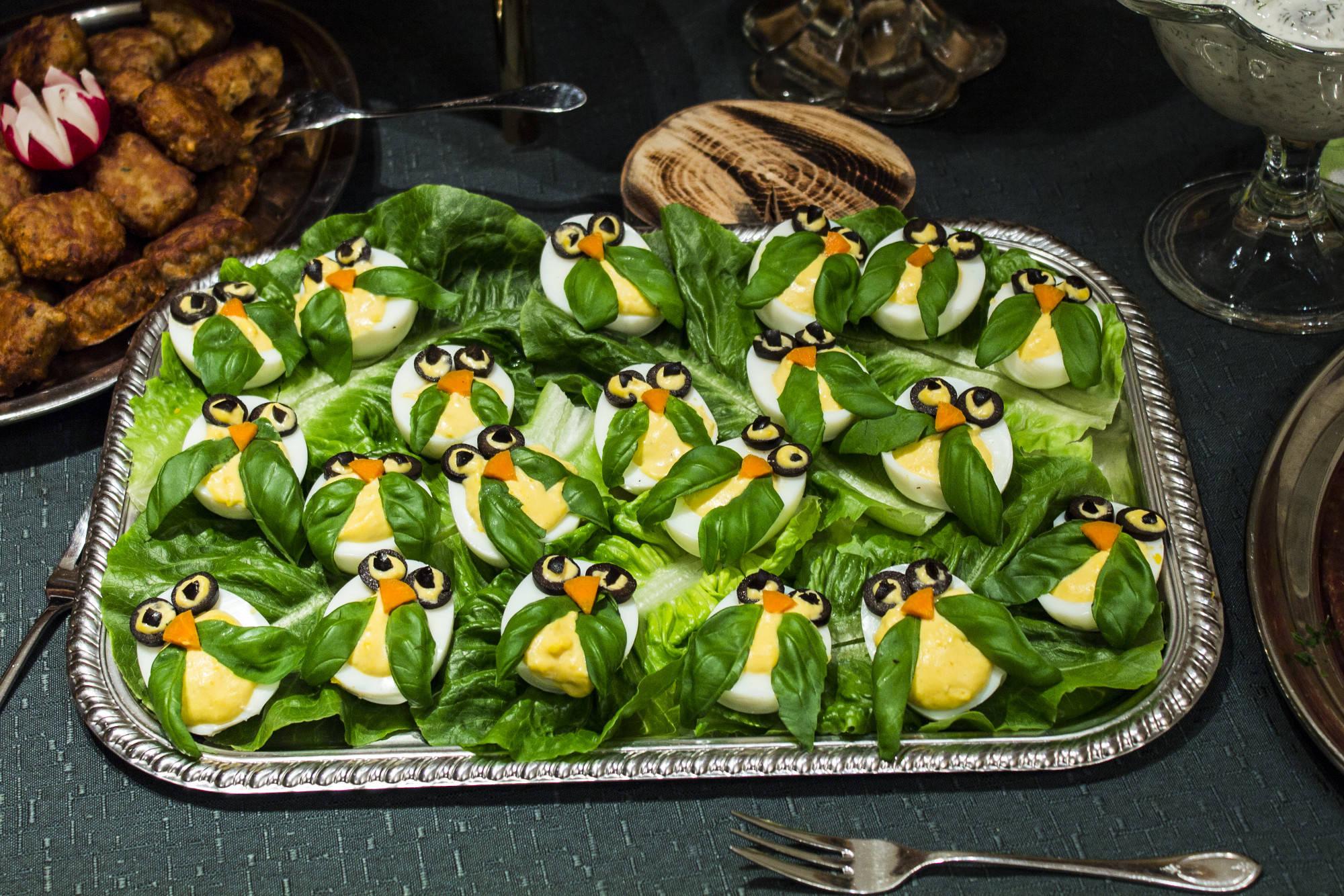 Kalt warmes buffet ideen